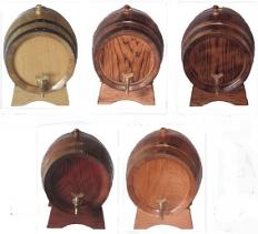 Small oak barrels, kegs and casks for wine in Malta